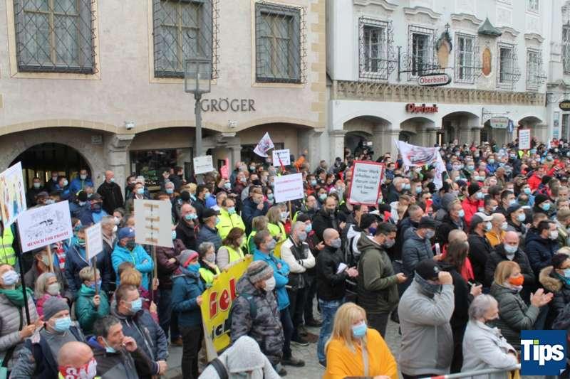 MAN Steyr: Warnstreik und Kundgebung - Bild 6
