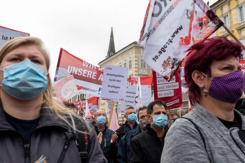 MAN Steyr: Warnstreik und Kundgebung - Bild 23