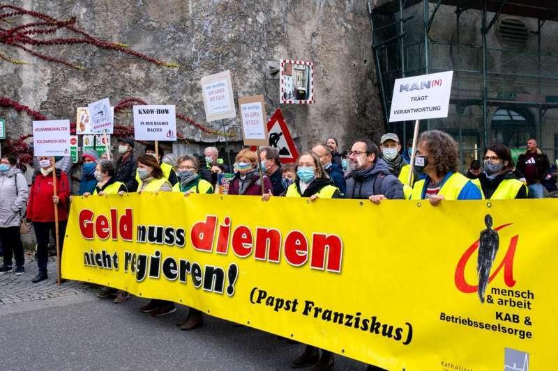 MAN Steyr: Warnstreik und Kundgebung - Bild 28