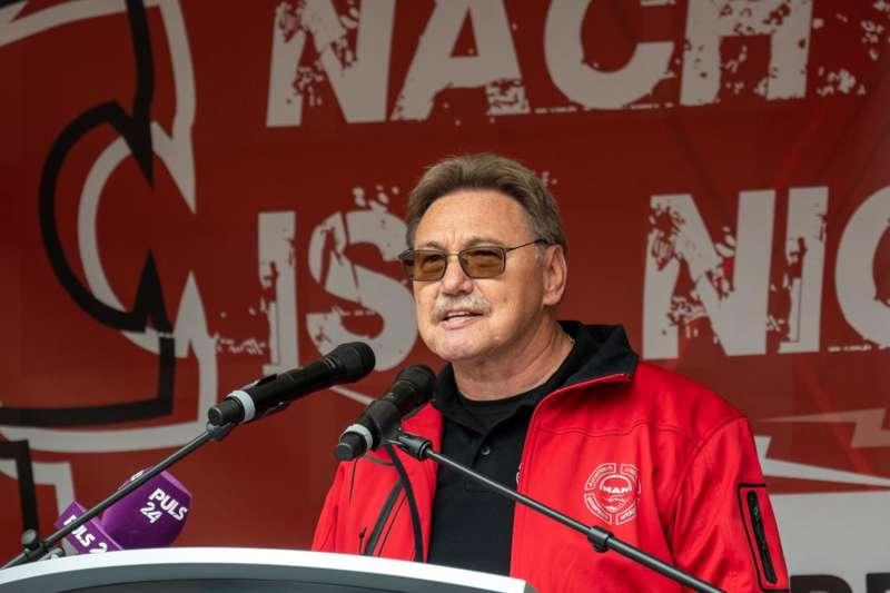 MAN Steyr: Warnstreik und Kundgebung - Bild 38