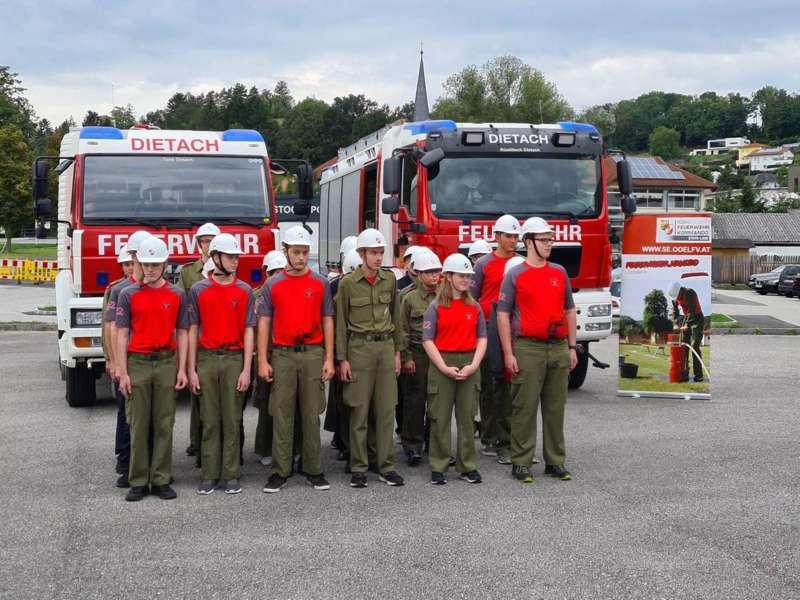 Feuerwehrjugend-Leistungsabzeichen in Gold - Bild 25