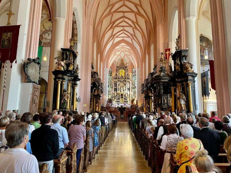 Begrüßungsfeier für den neuen Pfarrer Reinhard Bell - Bild 23