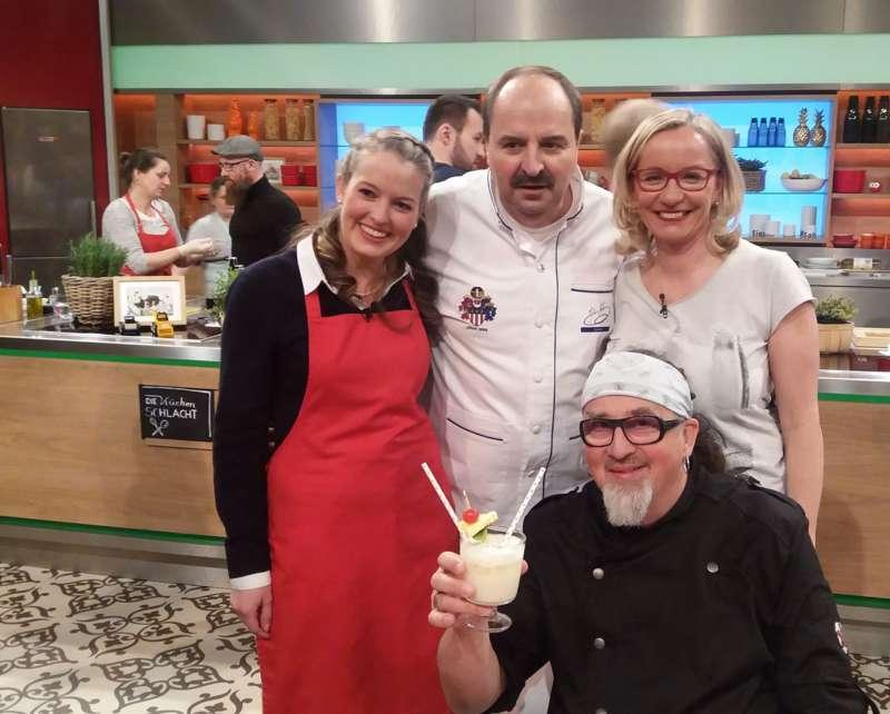 Neuhofnerin kocht bei der ZDF-Küchenschlacht auf