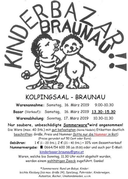 Kinderwarenbasar Braunau - Bild 1