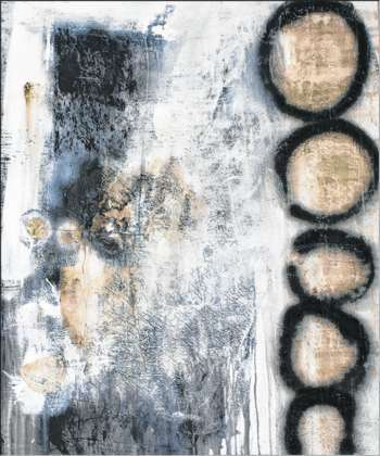 """Ausstellung """"Schwarz.Weiß.Bunt"""" von Cornelia Hauch und Riki ..."""