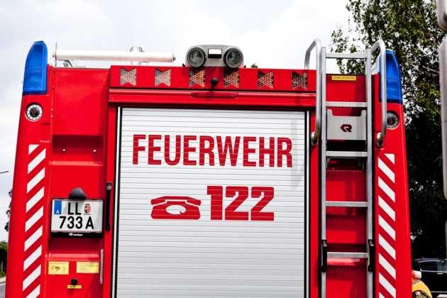 Linienbus in Wels fing während der Fahrt Feuer