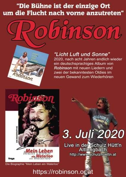 Der Linzer Barde Robinson ist zurück mit neuem Album - Bild 1589800862