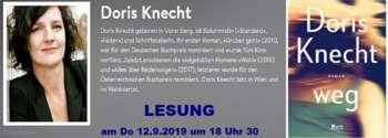 LESUNG mit Doris KNECHT