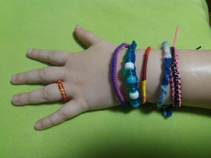 Bastelwerkstatt - Armbänder - Bild 1