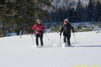 Bergparadies Warscheneck - Mit Schneeschuhen die Winteridylle am Teichelboden erleben