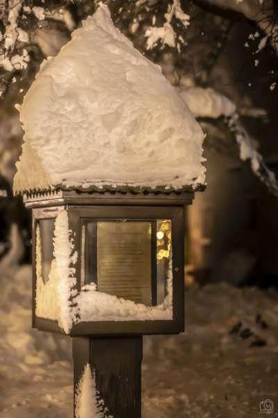 Winternachtfotos aus St. Georgen am Walde und Königswiesen - Bild 1