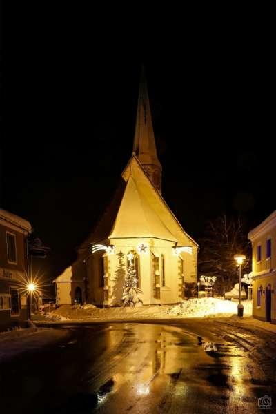 Winternachtfotos aus St. Georgen am Walde und Königswiesen - Bild 2
