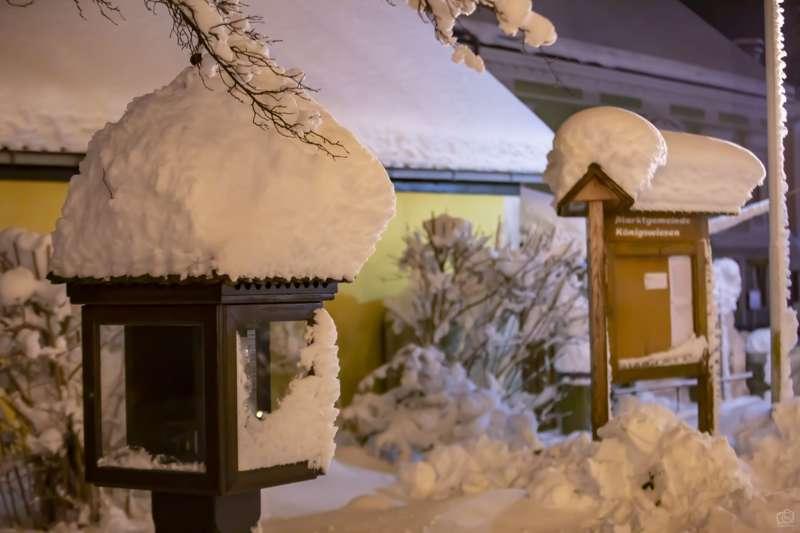 Winternachtfotos aus St. Georgen am Walde und Königswiesen - Bild 7