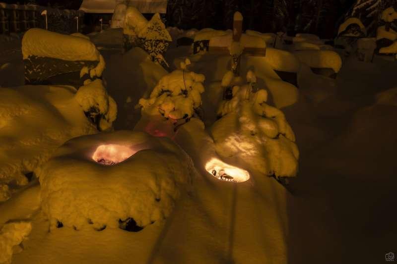 Winternachtfotos aus St. Georgen am Walde und Königswiesen - Bild 8