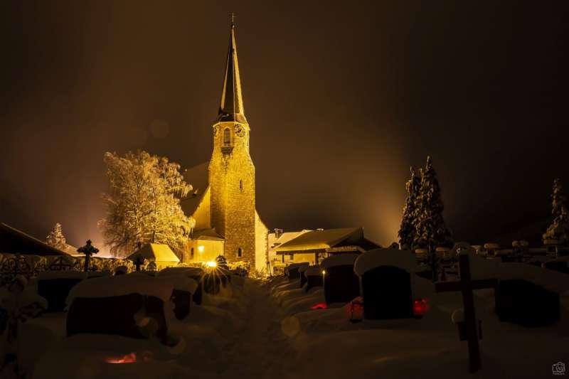 Winternachtfotos aus St. Georgen am Walde und Königswiesen - Bild 9