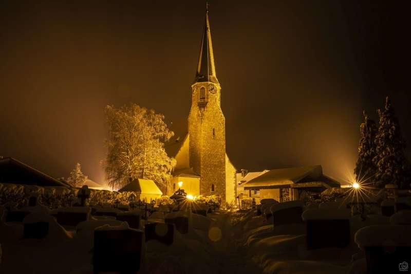 Winternachtfotos aus St. Georgen am Walde und Königswiesen - Bild 10