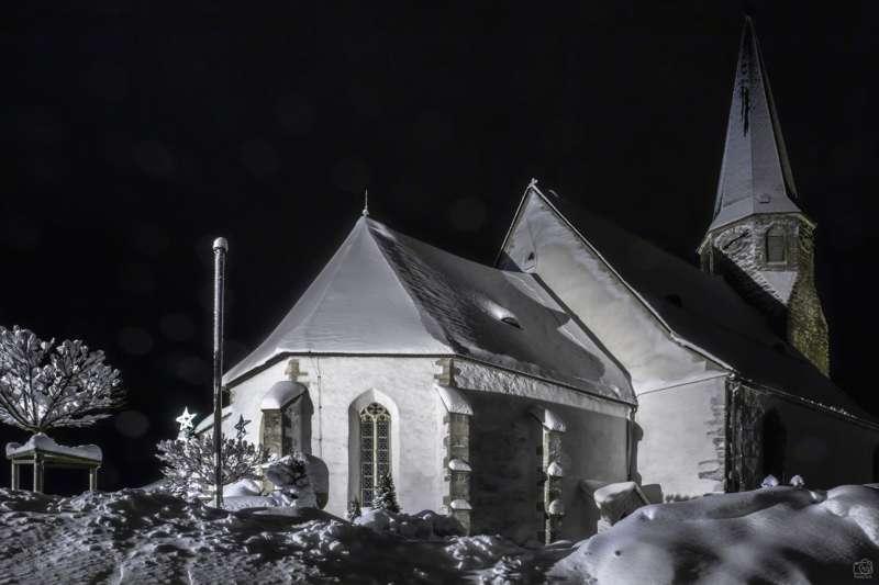 Winternachtfotos aus St. Georgen am Walde und Königswiesen - Bild 16