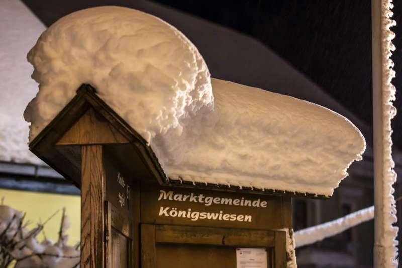 Winternachtfotos aus St. Georgen am Walde und Königswiesen - Bild 18