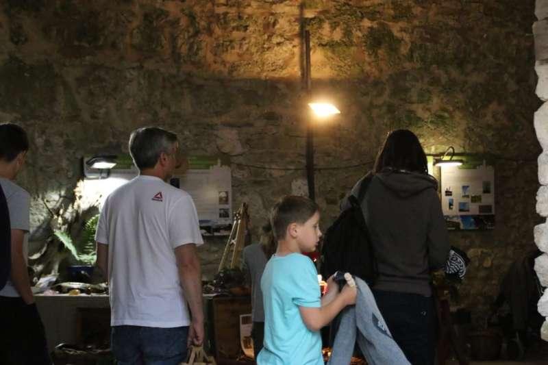 Drechseln, flechten und schmieden in der Burgarena - Bild 5