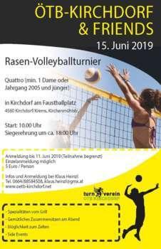 ÖTB Rasen-Volleyballturnier
