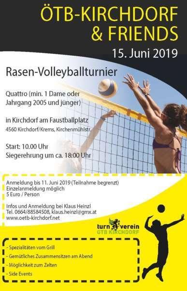 ÖTB Rasen-Volleyballturnier - Bild 1