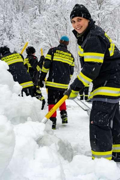 Bundesheer und Feuerwehren in Rosenau und Spital am Pyhrn im Einsatz - Bild 1
