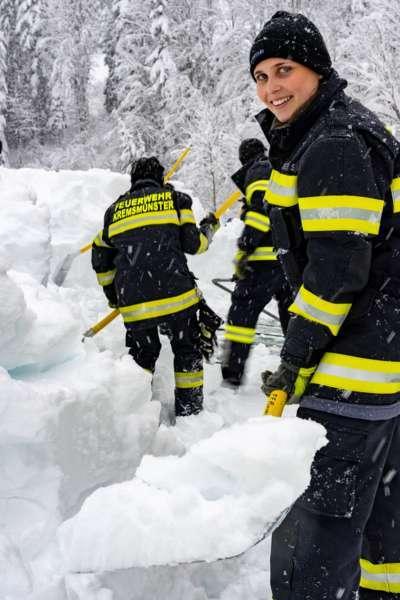 Bundesheer und Feuerwehren in Rosenau und Spital am Pyhrn im Einsatz - Bild 3