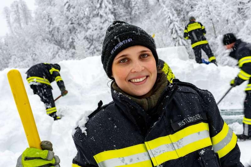 Bundesheer und Feuerwehren in Rosenau und Spital am Pyhrn im Einsatz - Bild 4