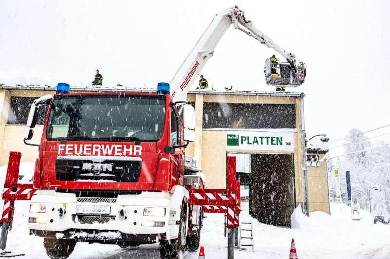 Bundesheer und Feuerwehren in Rosenau und Spital am Pyhrn im Einsatz - Bild 18