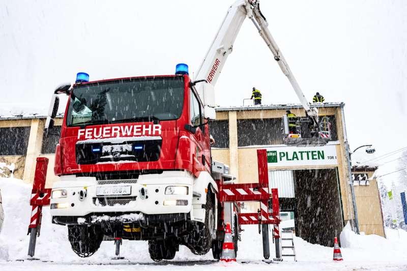 Bundesheer und Feuerwehren in Rosenau und Spital am Pyhrn im Einsatz - Bild 20