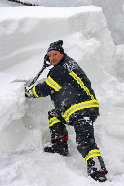 Bundesheer und Feuerwehren in Rosenau und Spital am Pyhrn im Einsatz - Bild 21