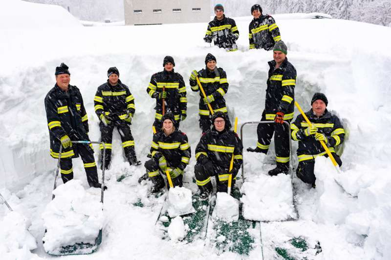 Bundesheer und Feuerwehren in Rosenau und Spital am Pyhrn im Einsatz - Bild 28
