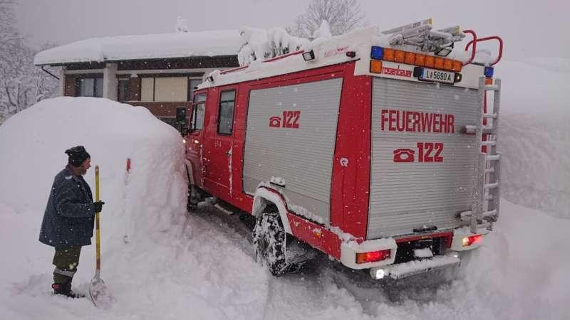 Bundesheer und Feuerwehren in Rosenau und Spital am Pyhrn im Einsatz - Bild 33