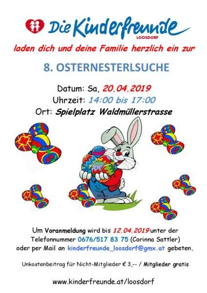 Osternesterlsuche der Kinderfreunde Loosdorf - Bild 1