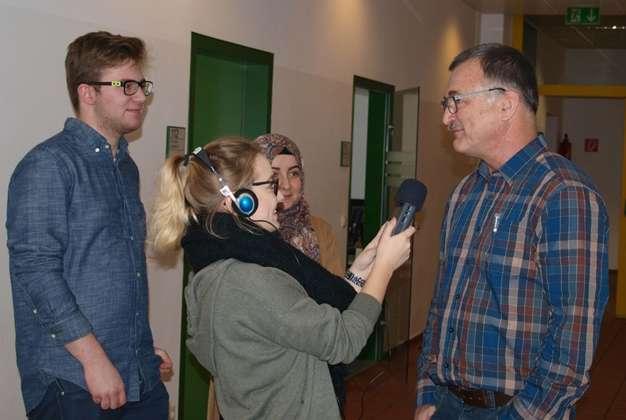 HAK Radio Schnuppertag über Me nwerkstatt Linz