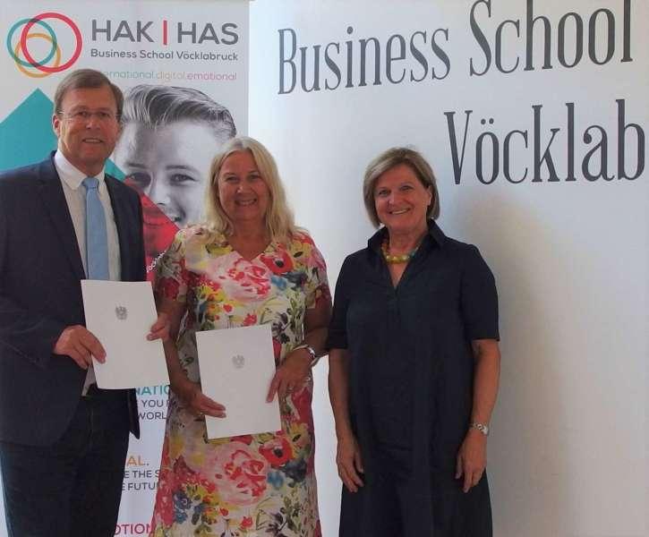 Business School Vöcklabruck: Wechsel in der Schulleitung - Bild 1