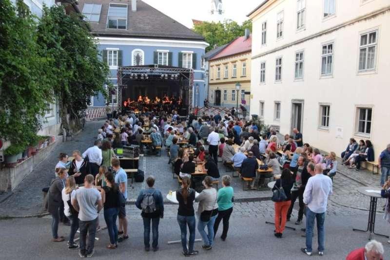 Klangwolke über Donaumarkt Mauthausen - Bild 5