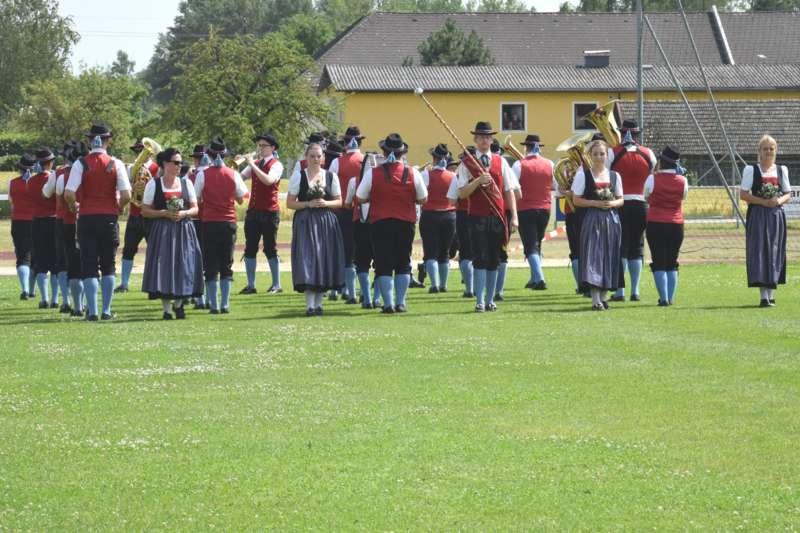 Marschmusikbewertung beim Bezirksmusikfest in St. Georgen - Bild 1