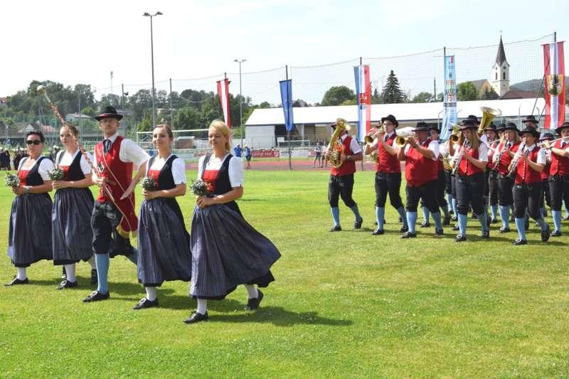 Marschmusikbewertung beim Bezirksmusikfest in St. Georgen - Bild 2