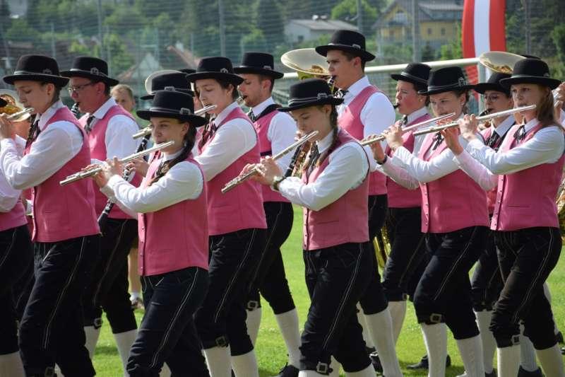 Marschmusikbewertung beim Bezirksmusikfest in St. Georgen - Bild 32