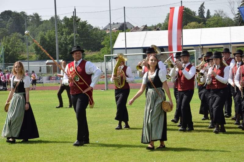 Marschmusikbewertung beim Bezirksmusikfest in St. Georgen - Bild 34