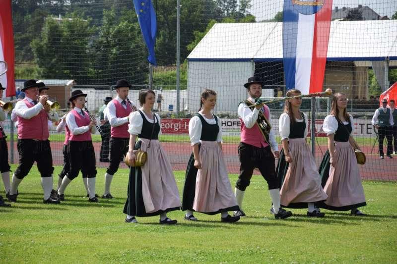 Marschmusikbewertung beim Bezirksmusikfest in St. Georgen - Bild 35