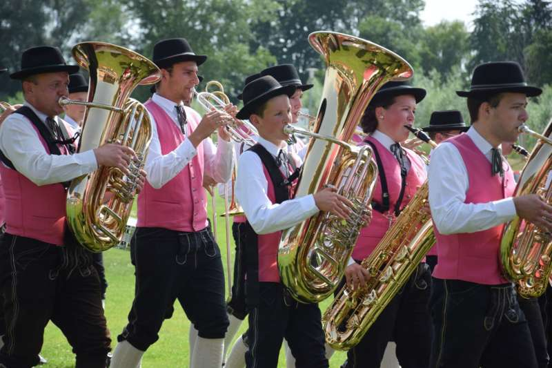 Marschmusikbewertung beim Bezirksmusikfest in St. Georgen - Bild 40