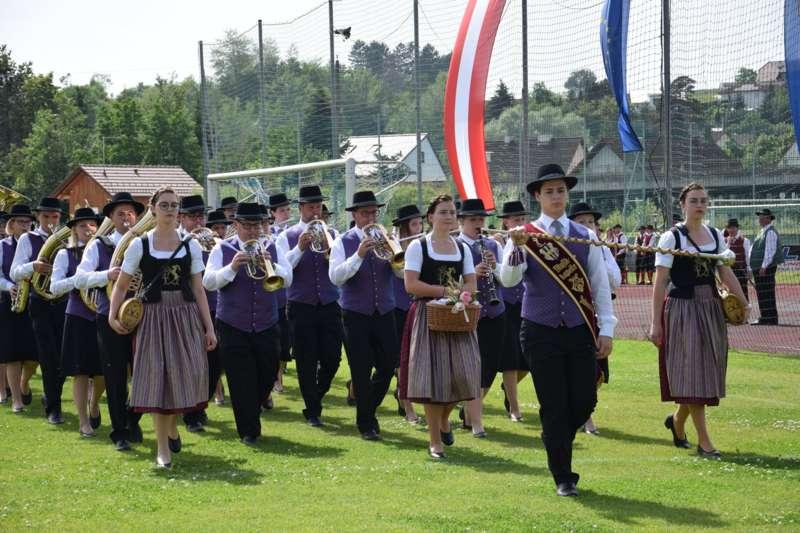 Marschmusikbewertung beim Bezirksmusikfest in St. Georgen - Bild 43