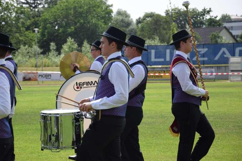 Marschmusikbewertung beim Bezirksmusikfest in St. Georgen - Bild 45