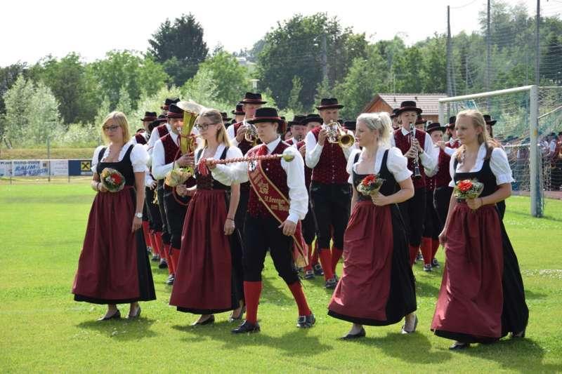 Marschmusikbewertung beim Bezirksmusikfest in St. Georgen - Bild 55