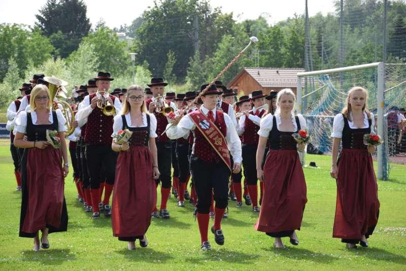 Marschmusikbewertung beim Bezirksmusikfest in St. Georgen - Bild 56