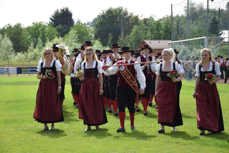 Marschmusikbewertung beim Bezirksmusikfest in St. Georgen - Bild 58