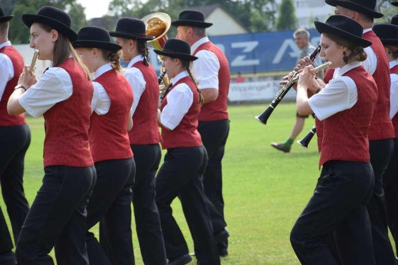 Marschmusikbewertung beim Bezirksmusikfest in St. Georgen - Bild 60