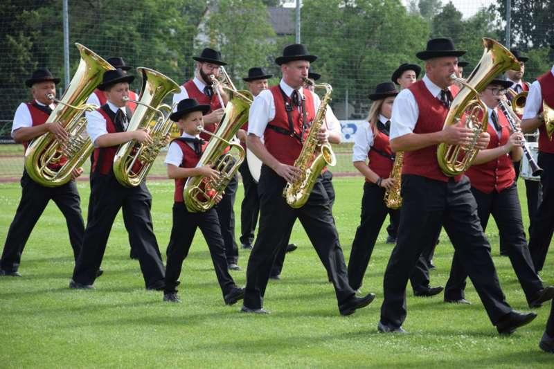 Marschmusikbewertung beim Bezirksmusikfest in St. Georgen - Bild 66